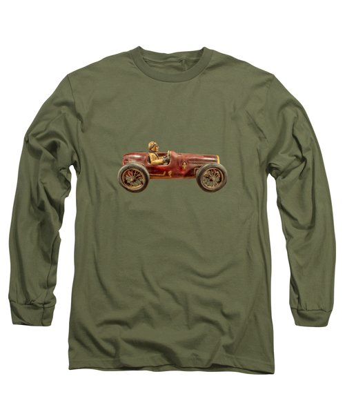 Red Racer Right Long Sleeve T-Shirt