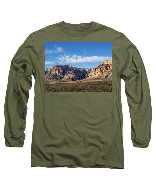 Red Rock Morning Long Sleeve T-Shirt