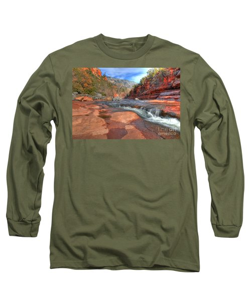 Long Sleeve T-Shirt featuring the photograph Red Rock Sedona by Kelly Wade