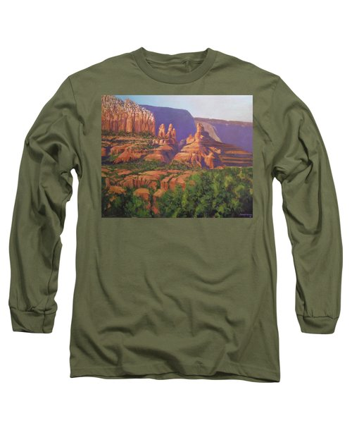 Red Rocks Sedona Long Sleeve T-Shirt