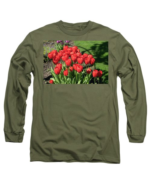 Red Royalty Long Sleeve T-Shirt