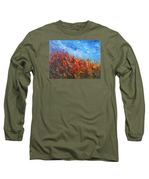 Red Sensation Long Sleeve T-Shirt