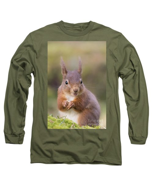 Red Squirrel - Scottish Highlands #18 Long Sleeve T-Shirt