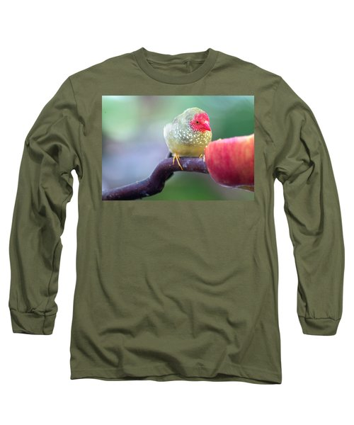 Red Star Finch Long Sleeve T-Shirt