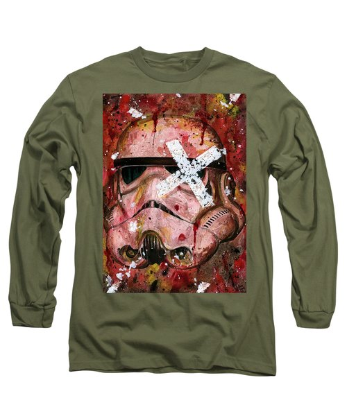 Red Stormtrooper Long Sleeve T-Shirt