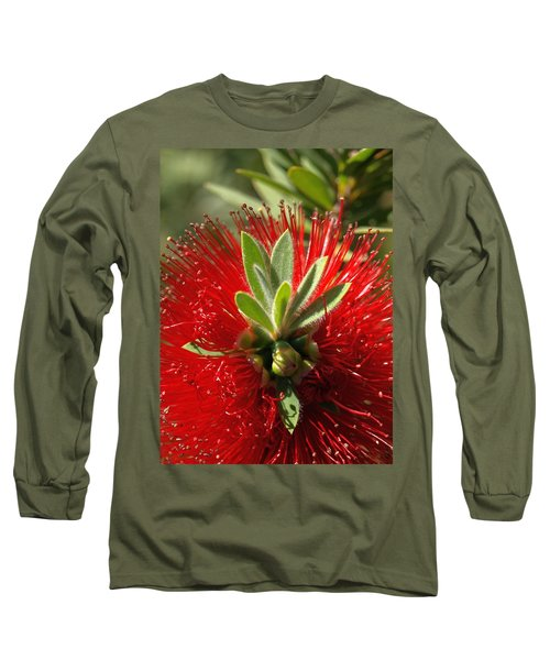 Red Surprise Long Sleeve T-Shirt