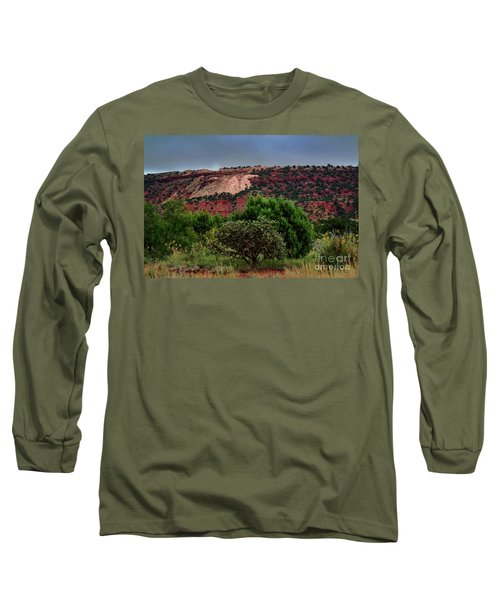 Long Sleeve T-Shirt featuring the photograph Red Terrain - New Mexico by Diana Mary Sharpton