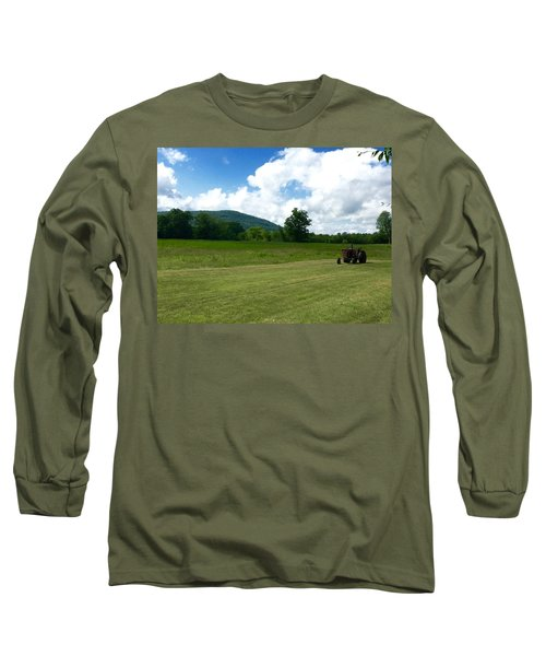 Red Tractor Long Sleeve T-Shirt