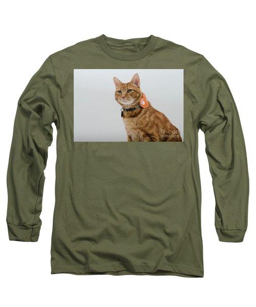 Red Tubby Cat Tabasco Pet Long Sleeve T-Shirt