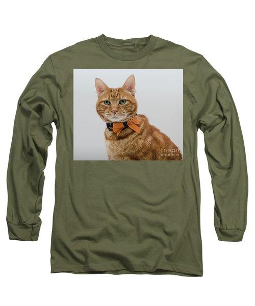 Red Tubby Cat Tabasco Halloween Long Sleeve T-Shirt