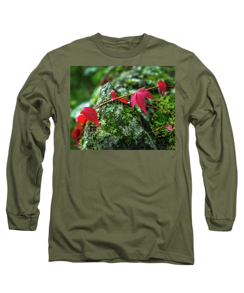 Long Sleeve T-Shirt featuring the photograph Red Vine by Bill Pevlor