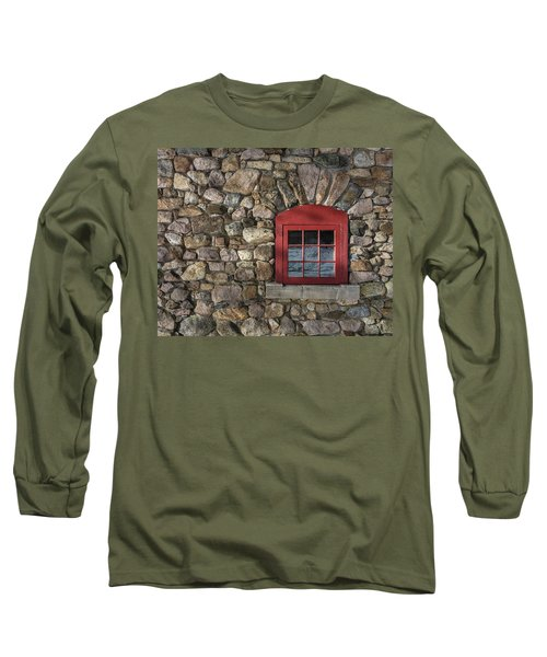 Red Window Long Sleeve T-Shirt