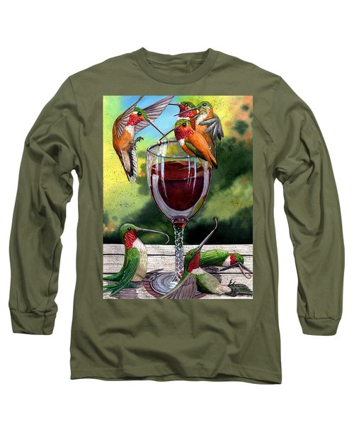 Red Winos Long Sleeve T-Shirt