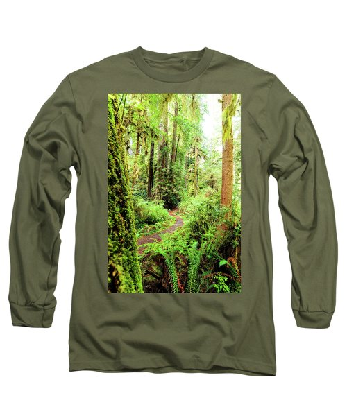 Red Woods Trail Long Sleeve T-Shirt