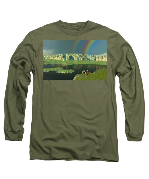 Redemption For An Angry Sky Long Sleeve T-Shirt
