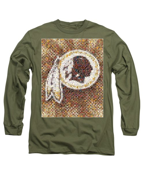 Redskins Mosaic Long Sleeve T-Shirt