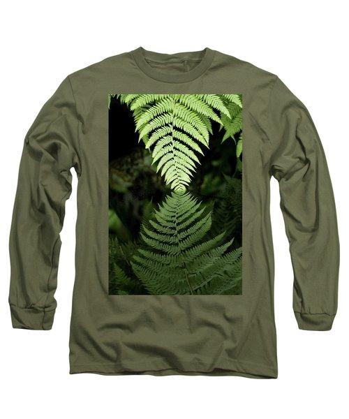 Reflected Ferns Long Sleeve T-Shirt