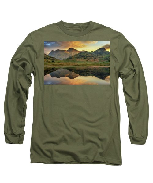 Reflected Peaks Long Sleeve T-Shirt