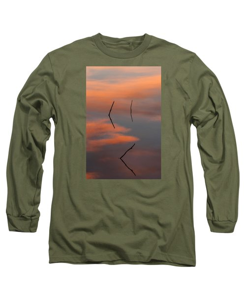 Reflected Sunrise Long Sleeve T-Shirt by Monte Stevens
