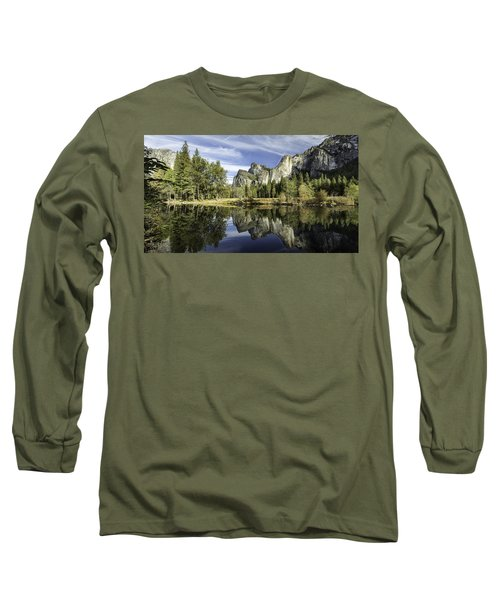 Long Sleeve T-Shirt featuring the photograph Reflecting On Yosemite by Chris Cousins