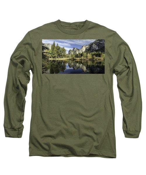 Reflecting On Yosemite Long Sleeve T-Shirt
