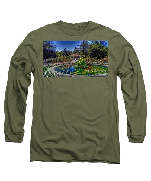 Reflecting Pool At Colonial Park Long Sleeve T-Shirt