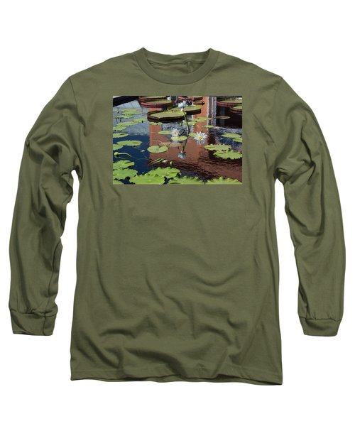 Reflections II Long Sleeve T-Shirt by Suzanne Gaff