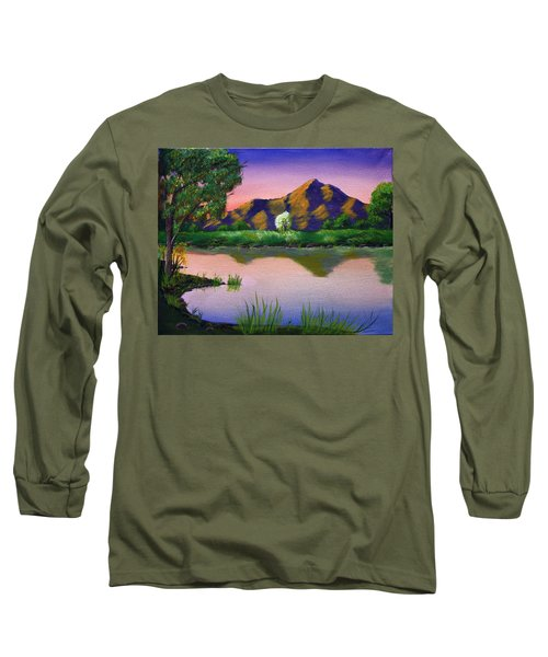 Reflections In The Breeze Long Sleeve T-Shirt