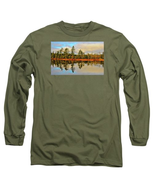 Long Sleeve T-Shirt featuring the photograph Reflections by Kathleen Sartoris