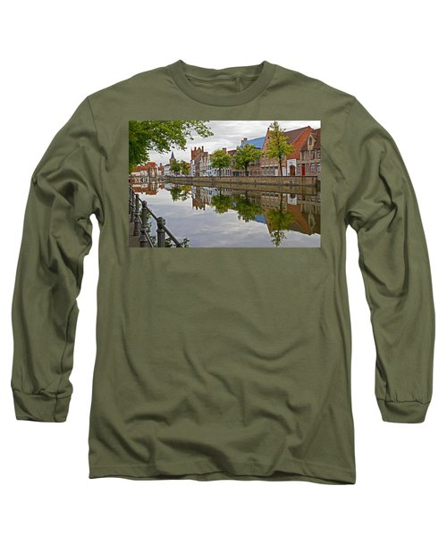 Reflections Of Brugge Long Sleeve T-Shirt