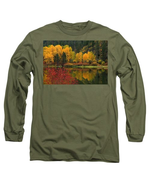Reflections Of Fall Beauty Long Sleeve T-Shirt