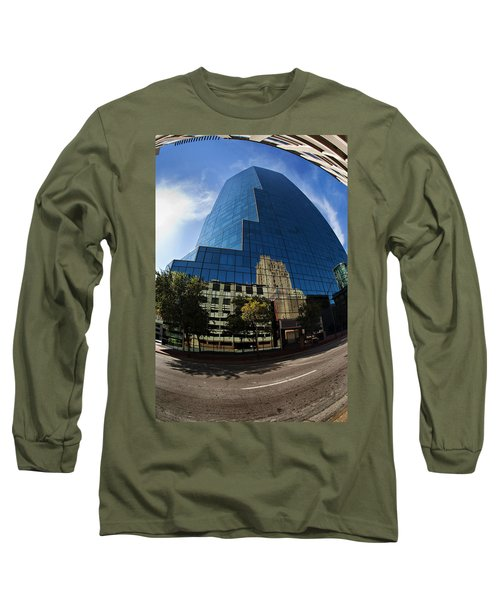 Reflections Of Fort Worth Long Sleeve T-Shirt