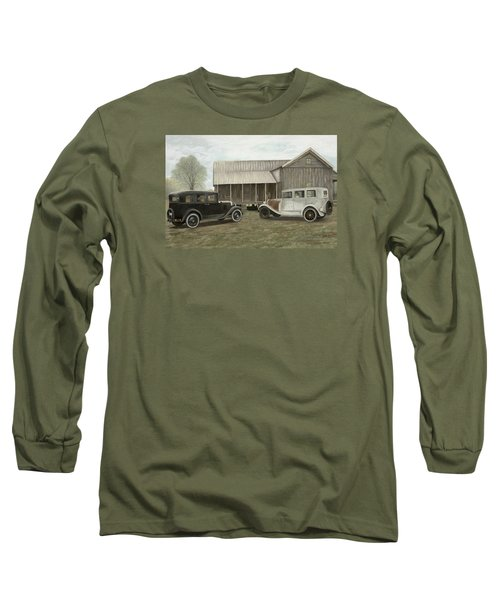 Reflections Of The Past Long Sleeve T-Shirt