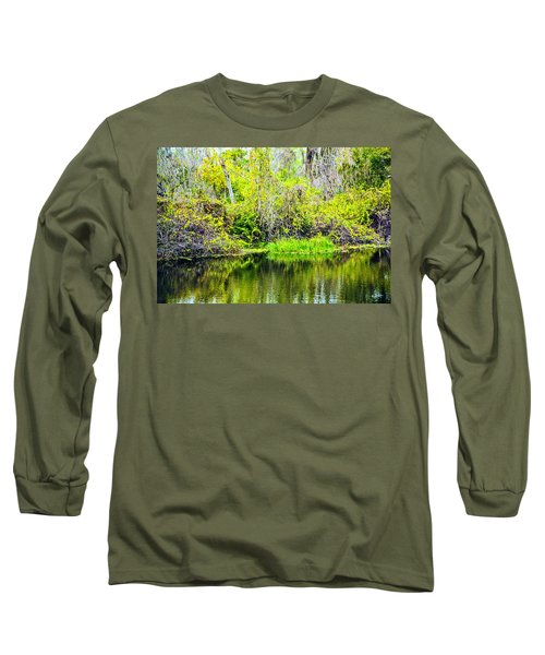 Long Sleeve T-Shirt featuring the photograph Reflections On A Beautiful Day by Madeline Ellis