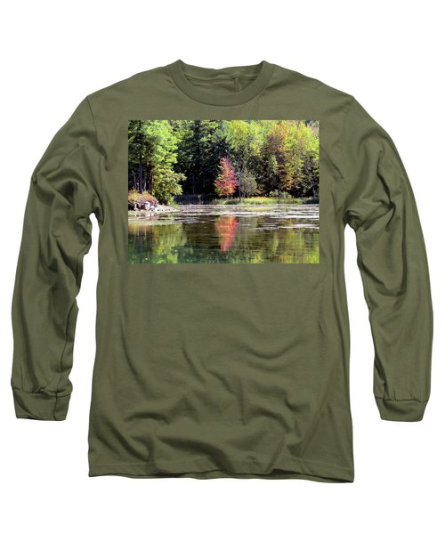 Reflections On The Rift Long Sleeve T-Shirt