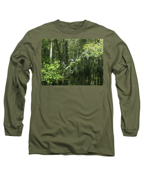 Reflections Upon The Swamp Long Sleeve T-Shirt