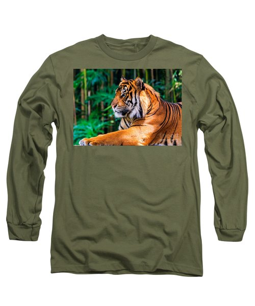 Regal Tiger Long Sleeve T-Shirt