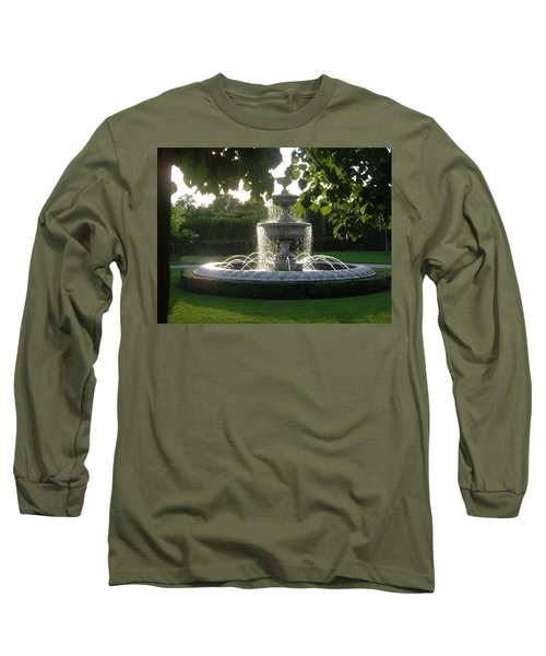 Regents Park Fountain Long Sleeve T-Shirt