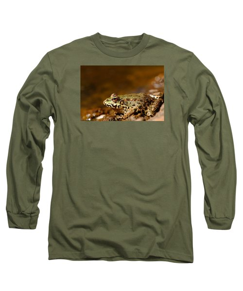 Long Sleeve T-Shirt featuring the photograph Relaxed by Richard Patmore
