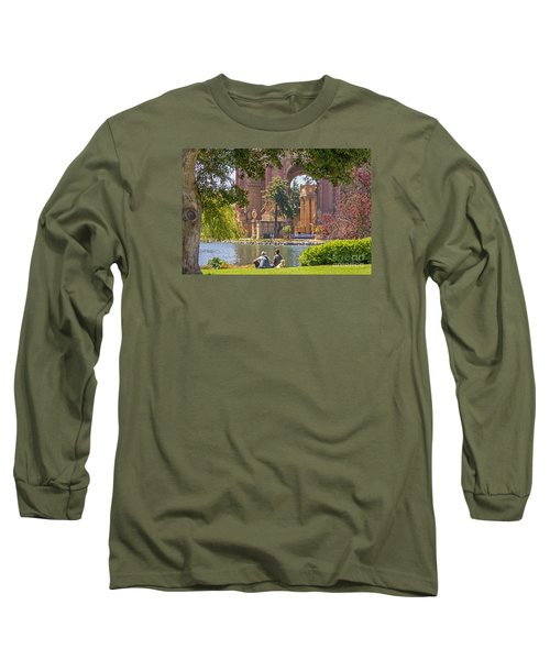 Long Sleeve T-Shirt featuring the photograph Relaxing At The Palace by Kate Brown