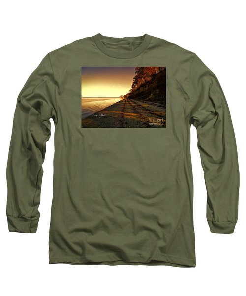 Relaxing In Surry Virginia Long Sleeve T-Shirt by Melissa Messick