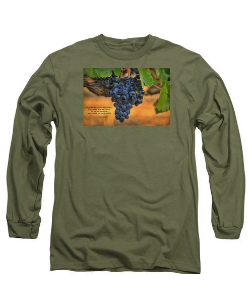 Long Sleeve T-Shirt featuring the photograph Remain In Me by Lynn Hopwood