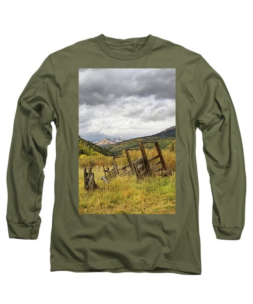 Remains Of A Corral Long Sleeve T-Shirt