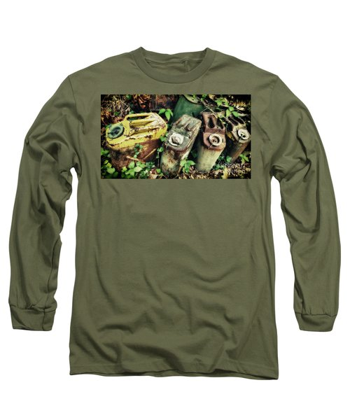 Remains Of The Day - Camp Mountain Lake Long Sleeve T-Shirt