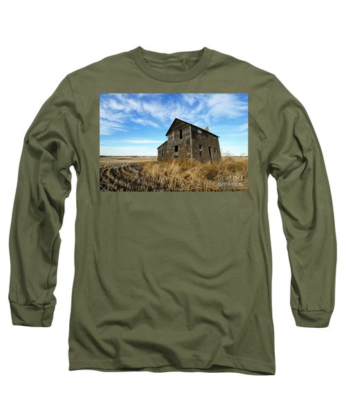 Long Sleeve T-Shirt featuring the photograph Remember The Past Work For The Future 2 by Bob Christopher