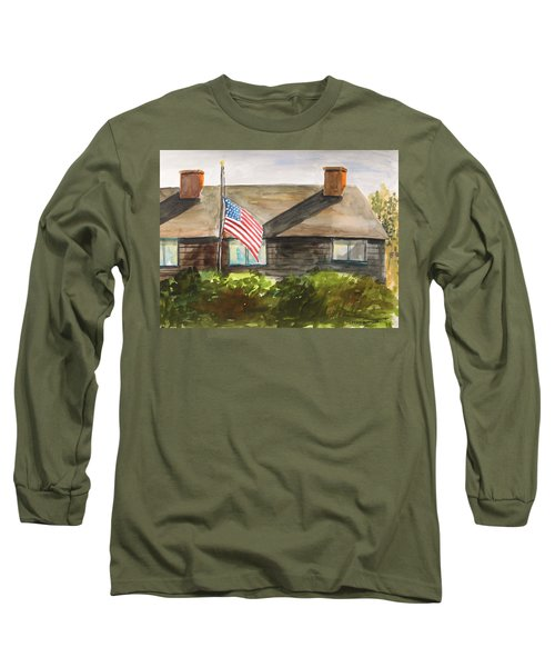 Remembering Patriot Day Long Sleeve T-Shirt by John Williams