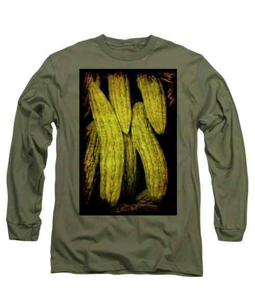 Renaissance Chinese Cucumber Long Sleeve T-Shirt