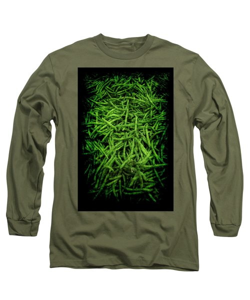 Renaissance Green Beans Long Sleeve T-Shirt