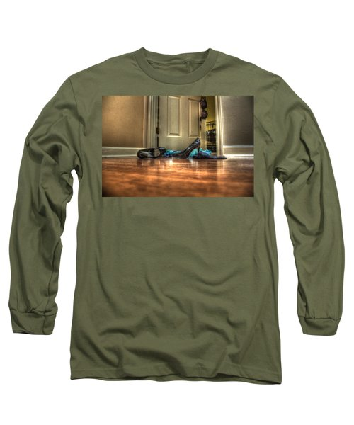 Rendezvous Do Not Disturb 05 Long Sleeve T-Shirt by Andy Lawless