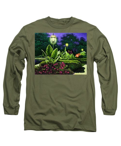 Rendezvous In The Park Long Sleeve T-Shirt by Michael Frank